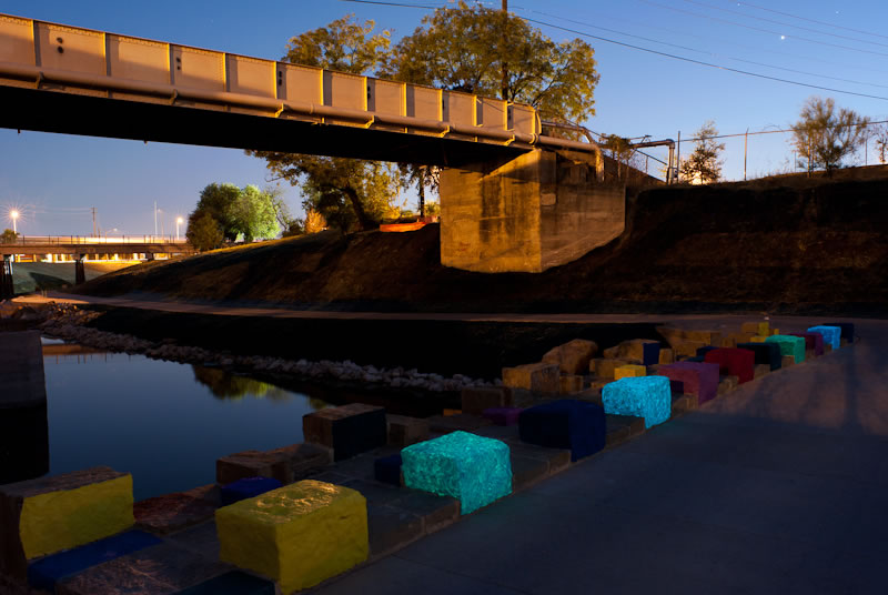 Mark Schlesinger | Up On The On bridge at twilight